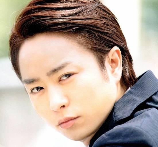 櫻井翔,髪型,おでこ