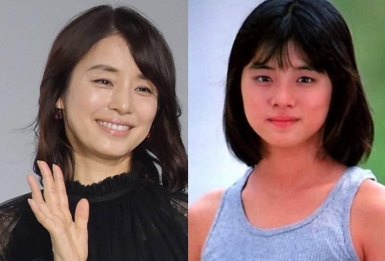 石田ゆり子,若い頃,かわいい, がっしり,体型,画像,比較
