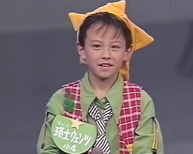 ウエンツ瑛士,若い頃,幼少期,画像