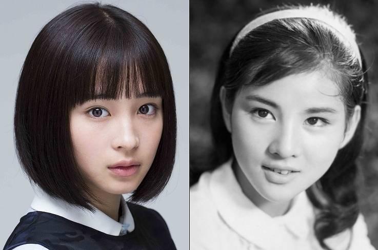 吉永小百合,若い頃,広瀬すず,似てる,画像比較