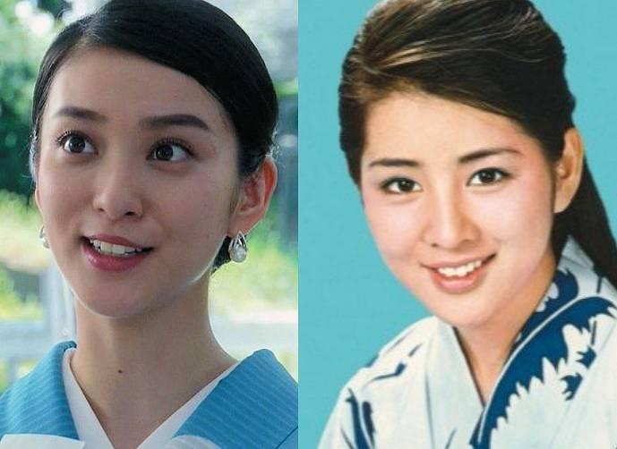 吉永小百合,若い頃,武井咲,似てる,画像比較