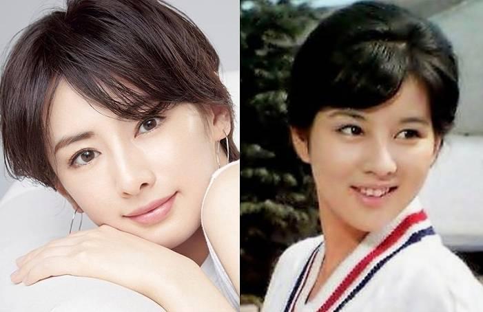 吉永小百合,若い頃,北川景子,似てる,画像比較1