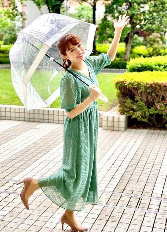 谷尻萌アナ、お天気キャスターのかわいい画像2