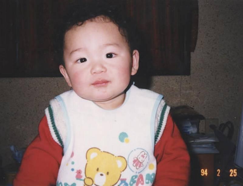 朝乃山,子供時代,かわいい,画像1