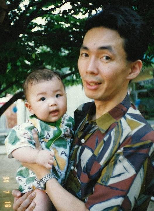 朝乃山,父親,画像
