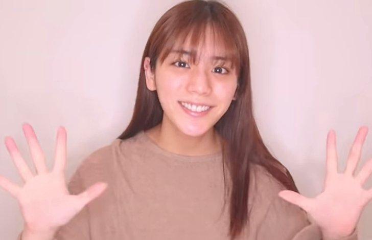 貴島明日香,すっぴん,かわいい,ハーフ,画像1