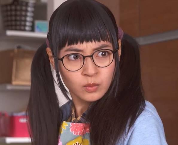 田辺桃子の今のメガネ顔が変わった?