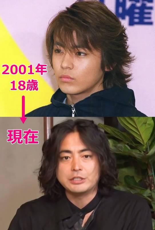 山田孝之が太った!昔と今の画像比較2