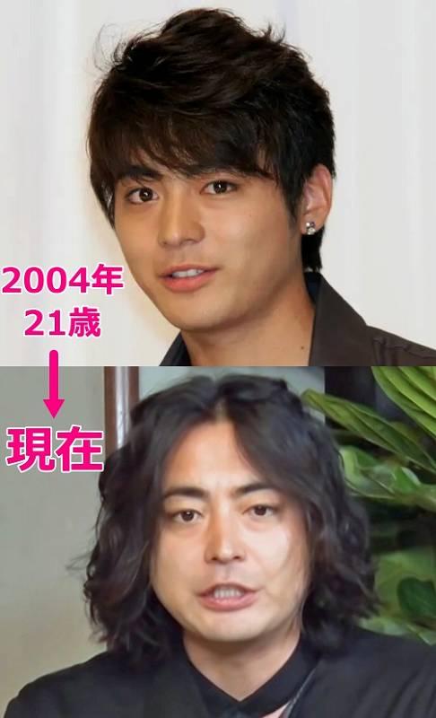 山田孝之が太った!昔と今の画像比較3