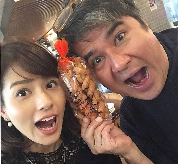永島優美と父親は仲がいい
