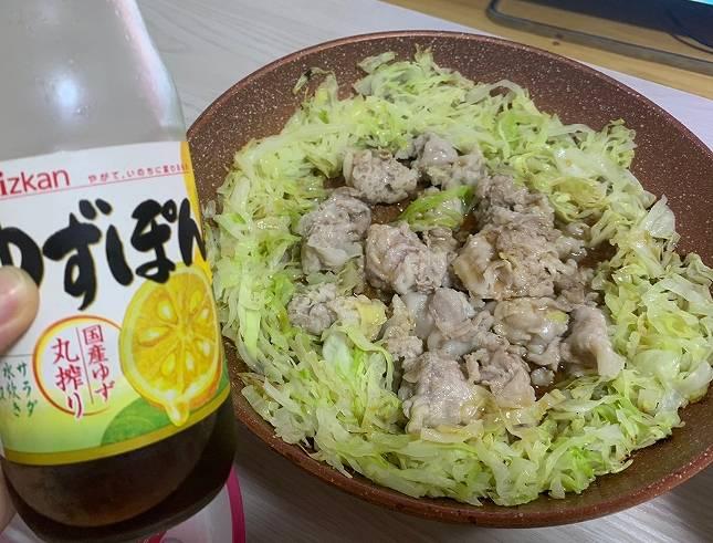 小林礼奈の料理が不味そうな肉