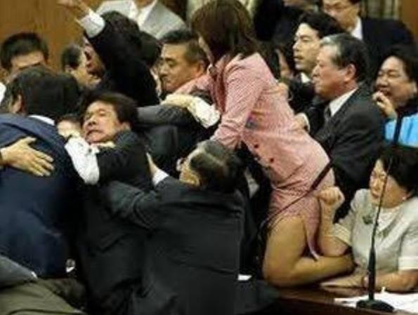 森裕子の昔の乱闘3