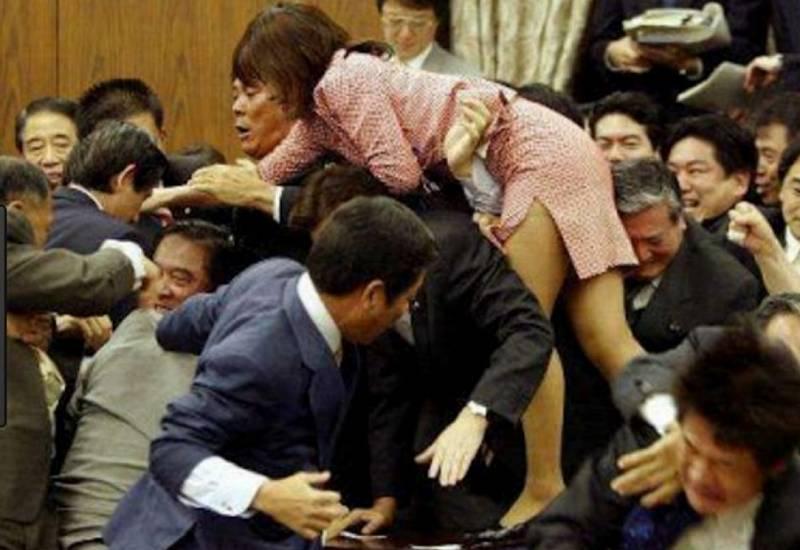 森裕子の昔の乱闘2
