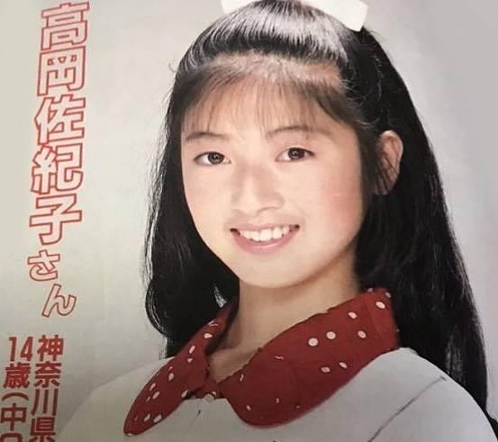 高岡早紀の若い頃のかわいい画像!デビューした年