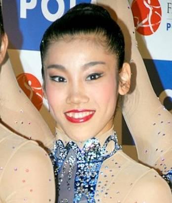 新体操の松原梨恵の顔が怖い画像