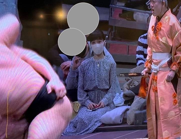 相撲前列の女性・溜席の妖精画像3