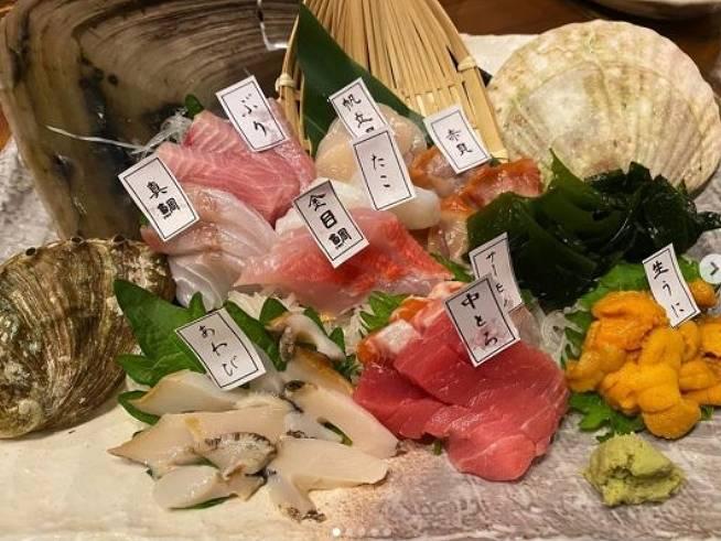 宮崎大輔と深瀬菜月のインスタ匂わせ画像の食事2