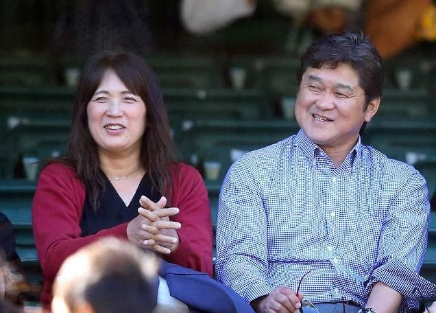 大谷翔平の父親のイケメン笑顔