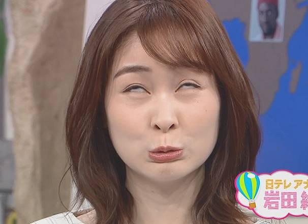 岩田絵里奈の目の色が茶色は裸眼