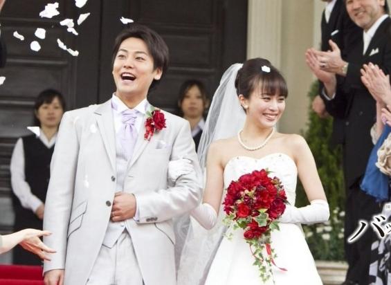 比嘉愛未と福士誠治の結婚式