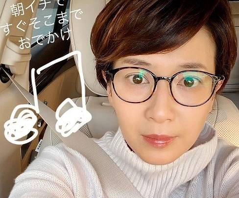 徳永有美のメガネをかけたかわいい画像4