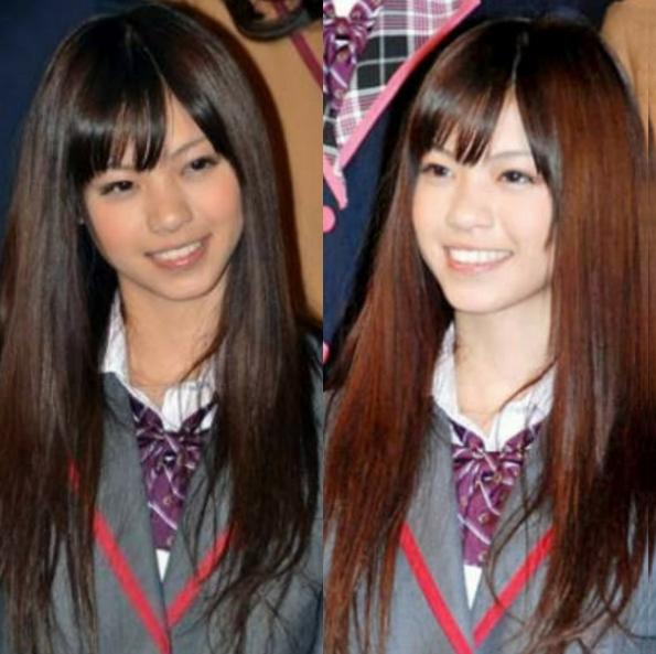 西野七瀬のかわいいロン毛のギャル写真