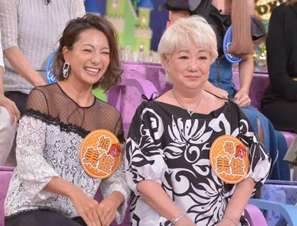 三船美佳と母親がかわいい