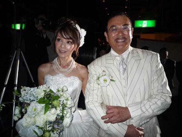 千葉真一の昔と嫁の画像