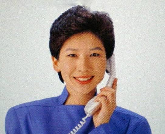 野田聖子の若い頃のかわいい画像1