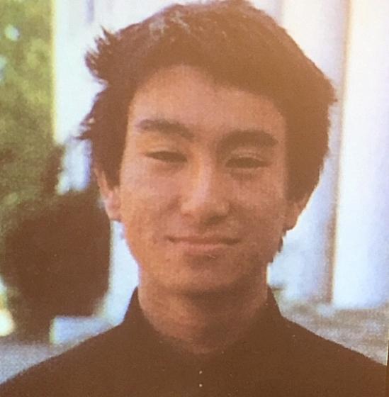 河野太郎の若い頃のイケメン画像1