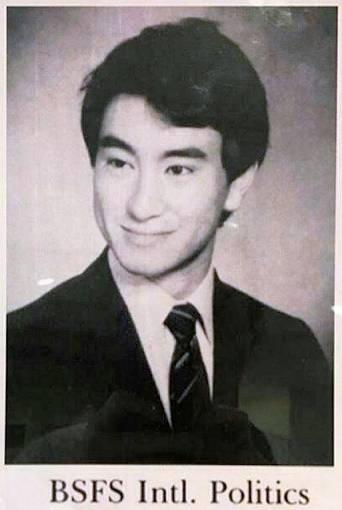 河野太郎の若い頃のイケメン画像2