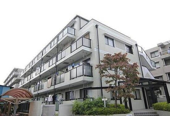 小室圭の自宅マンション・アークエルム大倉山2の外観