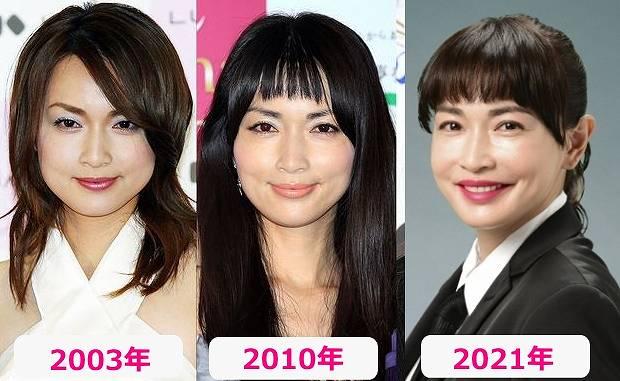 長谷川京子の昔と今の顔画像比較