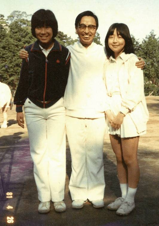 堀内詔子の若い頃のかわいい中学校時代
