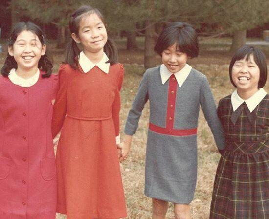 堀内詔子の若い頃のかわいい小学校時代